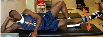 画像:太もも内側を鍛える体操
